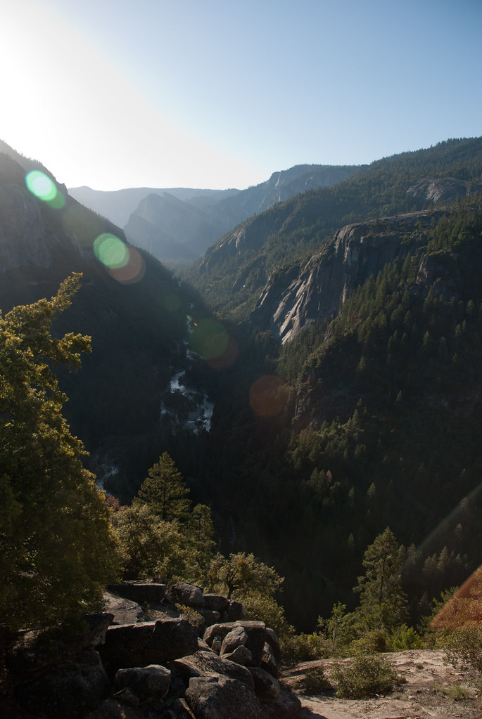 Sunrise at Yosemite Valley