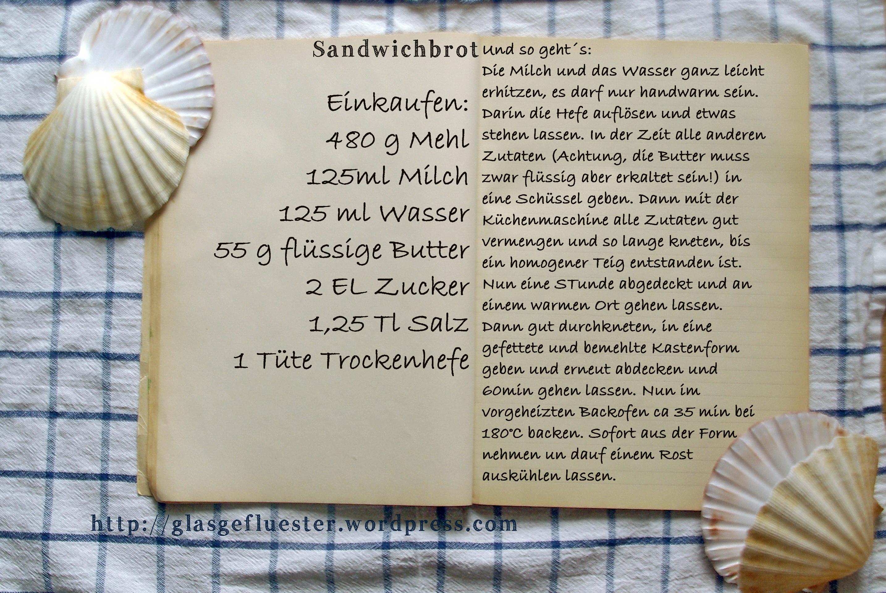EinkaufszettelSandwichbrot by Glasgefluester
