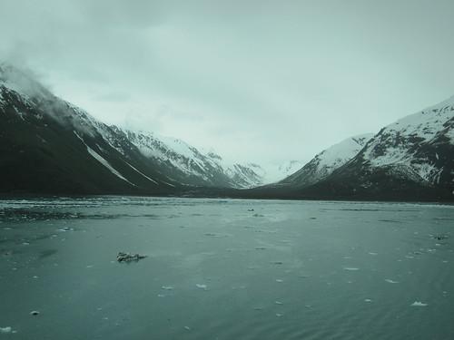 Former glacier