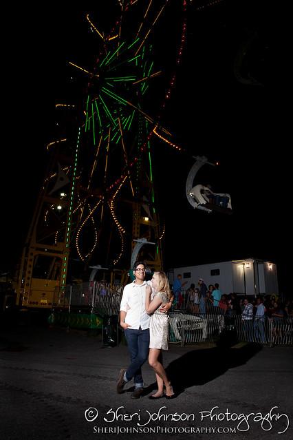 Kayla & Edson Engagement Cumming Fair