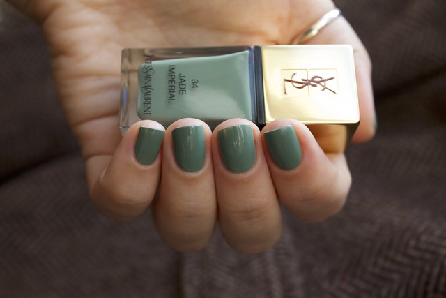 14 YSL Jade Imperial swatches
