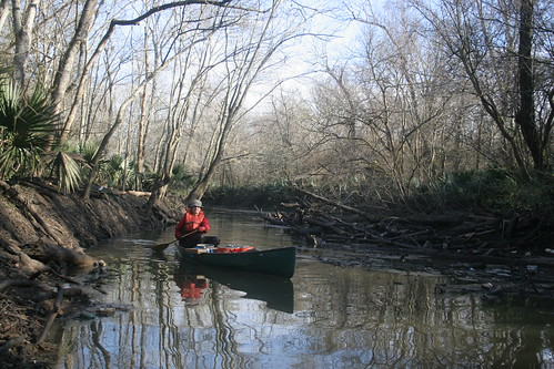 Traditional post-clearing paddle through