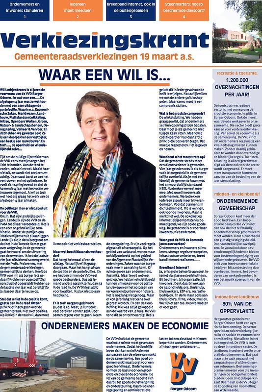 VVD Borger-Odoorn 2014