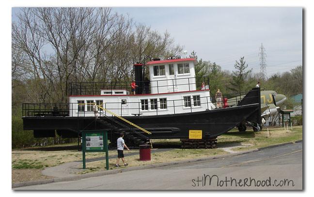 tug boat at transportation museum