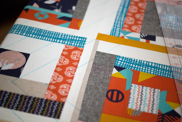 Tsuru quilting lines by frommartawithlove, on Flickr