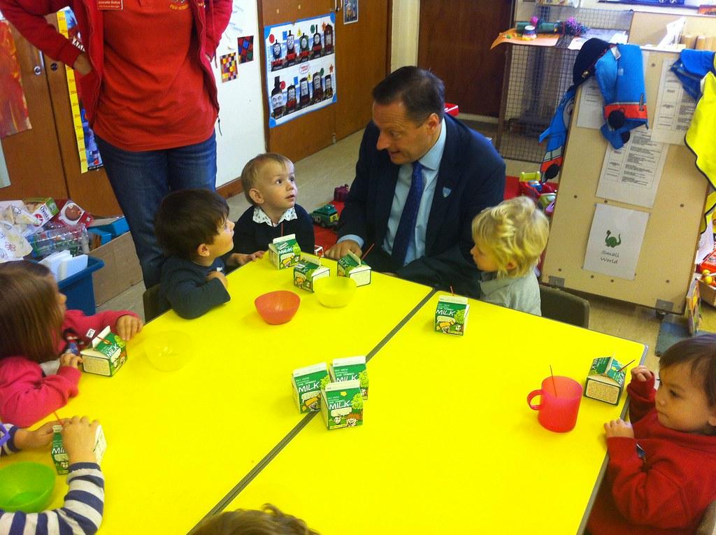 School Milk in Netherton