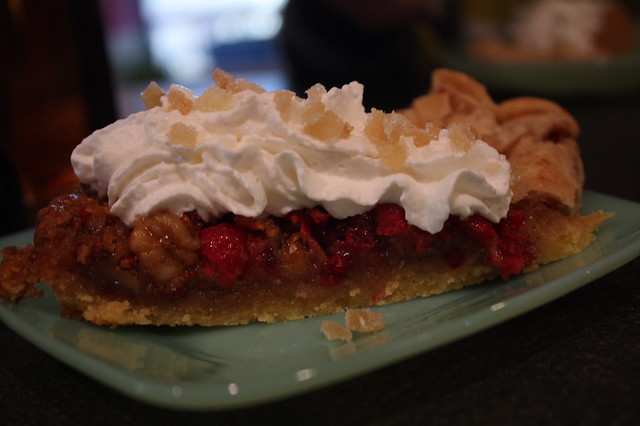 Cranberry Walnut Tart