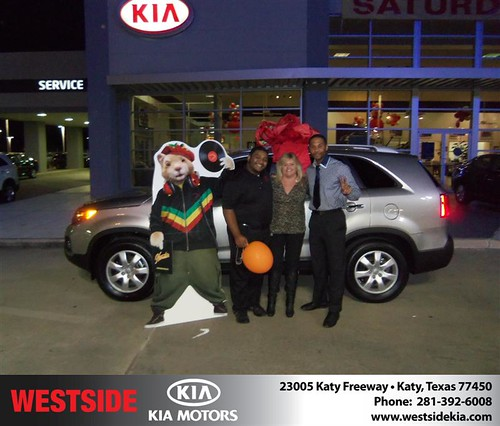 Happy Anniversary to Carolyn L Harvey on your 2013 #Kia #Sorento from Suliveras Wilfredo and everyone at Westside Kia! #Anniversary by Westside KIA