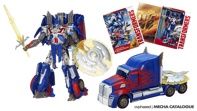 TRANSFORMERS Age of Extinction - First Edition Optimus Prime
