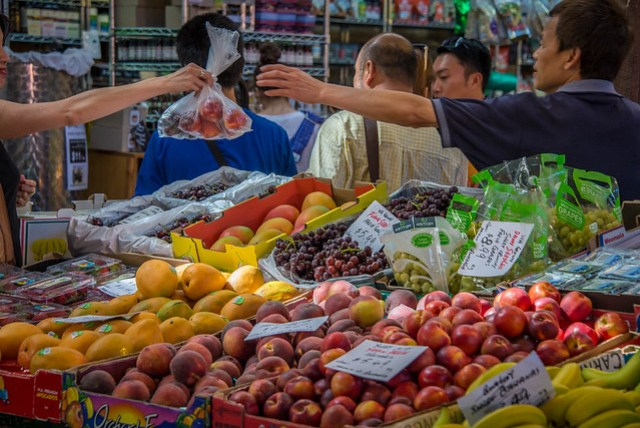 Fruit market in Freemantle