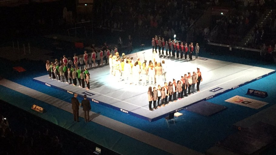 2016-12-03 Meisterschaftsfinale Deutsche Turnliga, MHP-Arena, Ludiwgsburg, 3. Dezember 2016