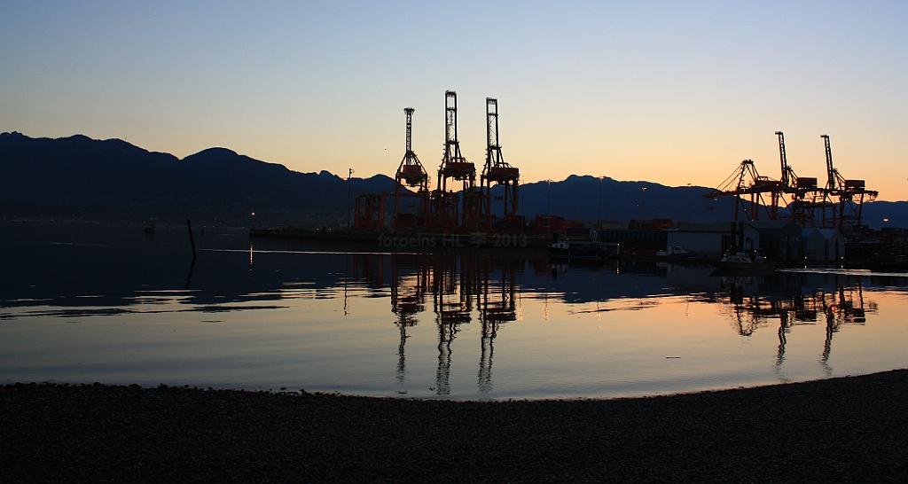 CenTerm, Burrard Inlet, Vancouver, BC, Canada