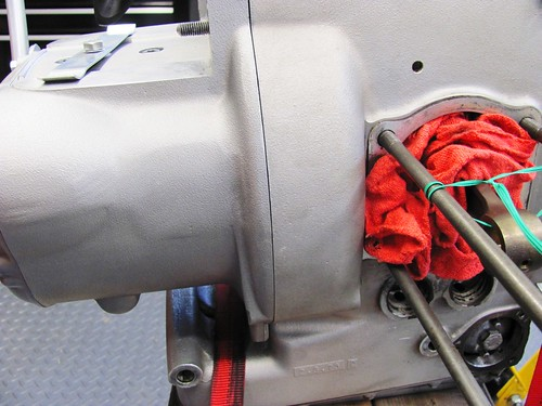 Transmission Aligned with Engine