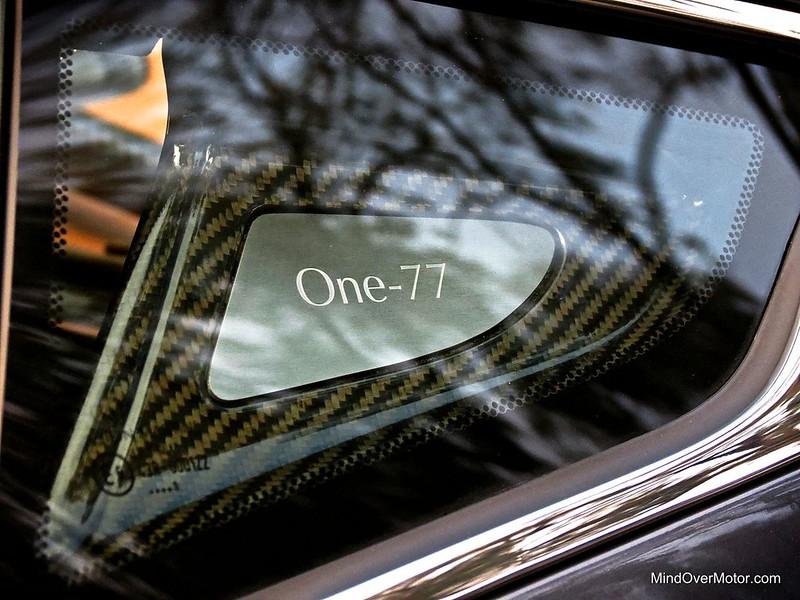 Aston Martin One-77 Carbon Fiber