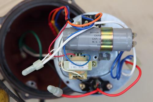 コンデンサ コイル 電動機焼損防止装置