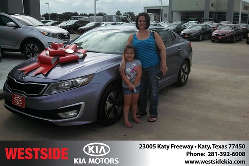 Thank you to Lynda Long on your new 2012 #Kia #Optima from Gil Guzman and everyone at Westside Kia! #NewCar by Westside KIA