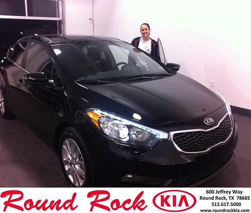 Thank you to Casey  Slocum on your new 2014 #Kia #Forte from Amir Mahboubi and everyone at Round Rock Kia! #RollingInStyle by RoundRockKia
