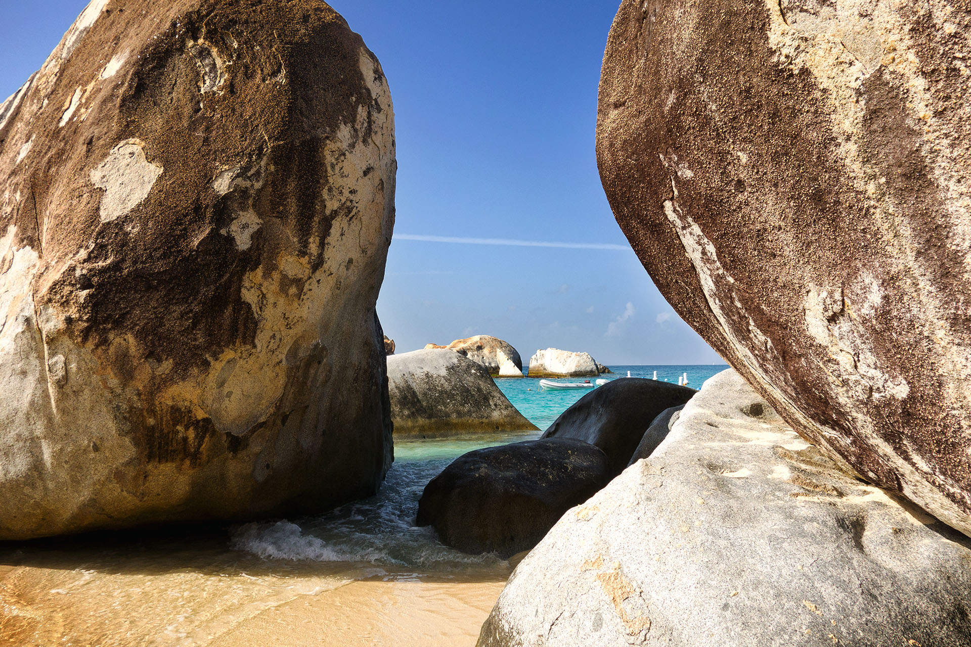 The Baths on Virgin Gordo in the British Virgin Islands.