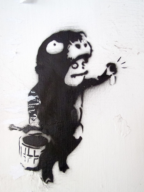 Wild Things - Stencil