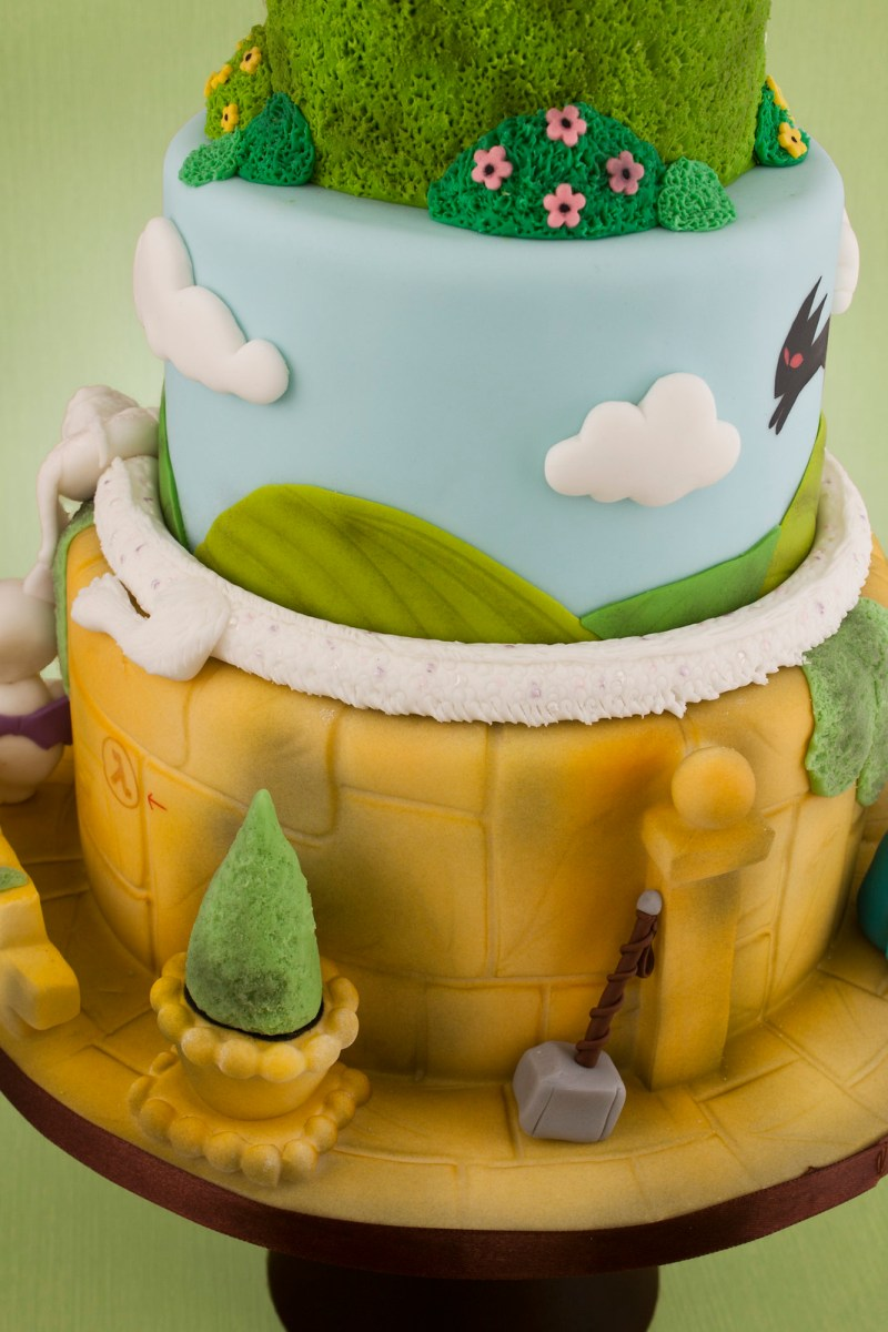 62. Cake of awesome