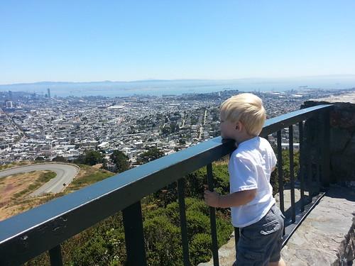 Twin Peaks, San Francisco by marymactavish