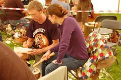 teaching spoon carving
