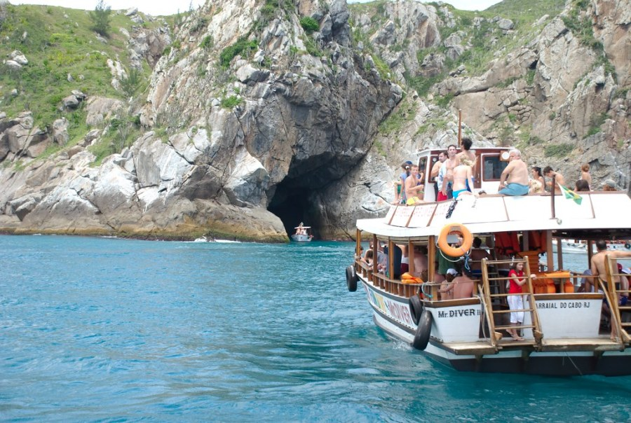 Paseo en barco Cabo Frío