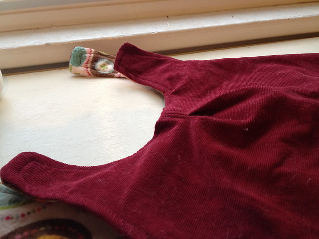 closeup of pleat