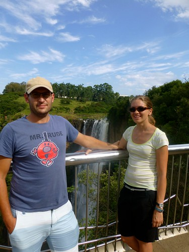 Lindey and I by the falls