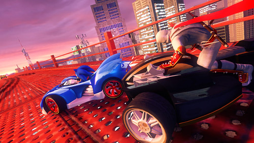 Sonic & All-Stars Racing Transformed - Car