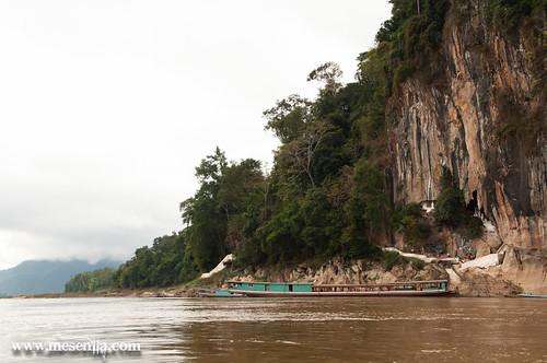 El riu Mekong i les coves de Pak Ou