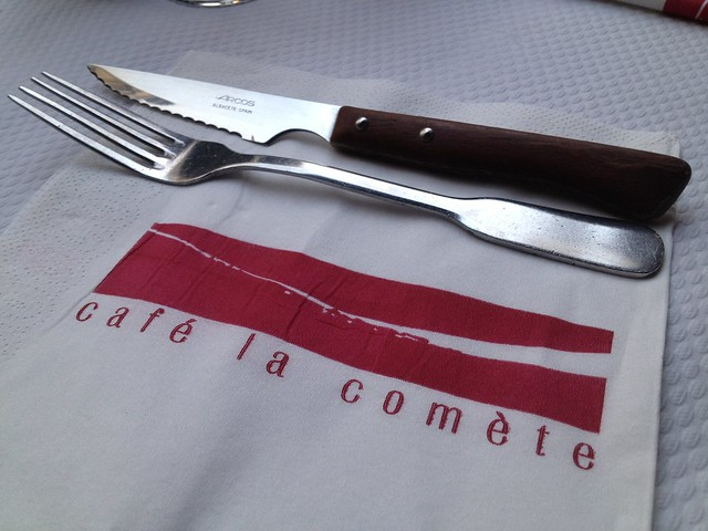 Place setting - La Comete