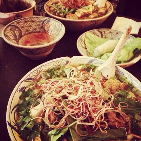 Lekker eten in Berlijn: Bo Bun en Frühlungsrollen bij Vietnamees theehuis Chen Che
