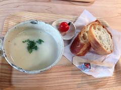 かぶのトロっとクリームスープ