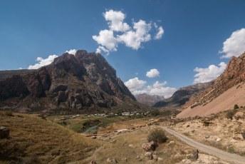 Sarytag, populair vanwege de hiking mogelijkheden.