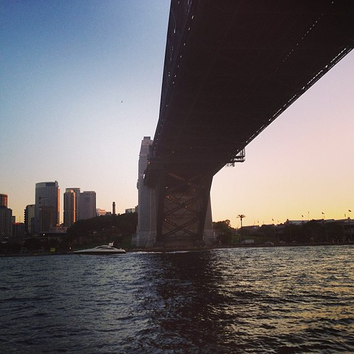 Harbor Bridge #sydney #australia by @MySoDotCom