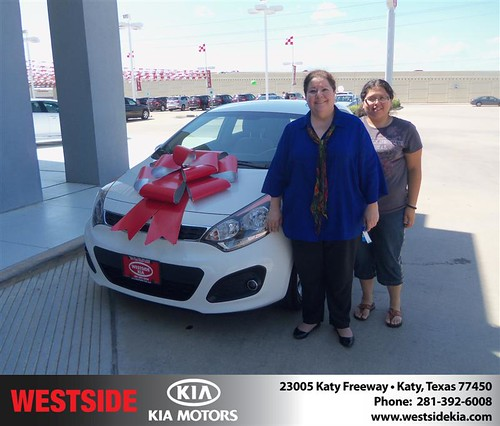 Westside KIA Houston Texas Customer Reviews and Testimonials - Judith Chavez by Westside KIA