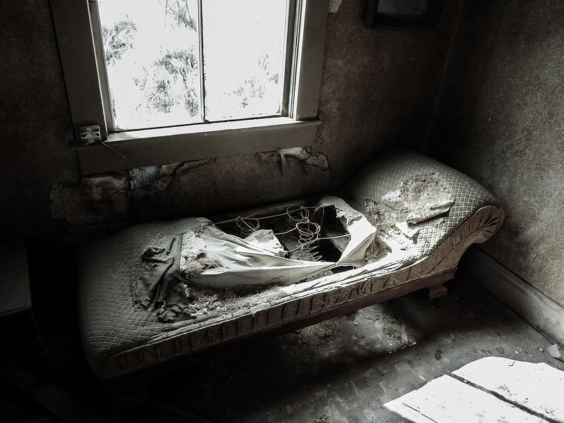 Bed, Bodie Ghost Town, California