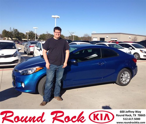 Thank you to Paul Mcconnell on your new 2014 #Kia #Forte Koup from Jorge Benavides and everyone at Round Rock Kia! #NewCar by RoundRockKia