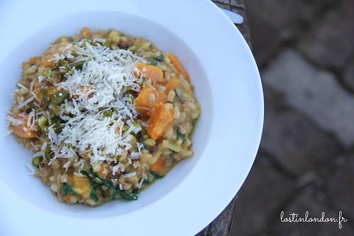 josh eggleton spelt barley and squash risotto recipe