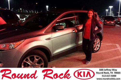 Congratulations to Danyelle Dominguez on your #Ford #Escape purchase from Kelly  Cameron at Round Rock Kia! #NewCar by RoundRockKia