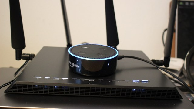 Amazon Alexa and router
