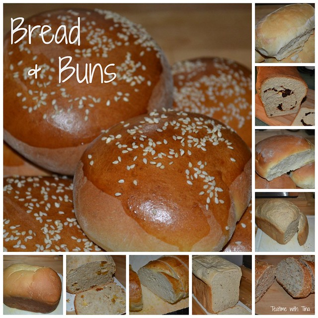 Bread Collage, Teatime with Tina