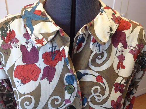 Liberty Corduroy Simplicity 5232 collar/buttons