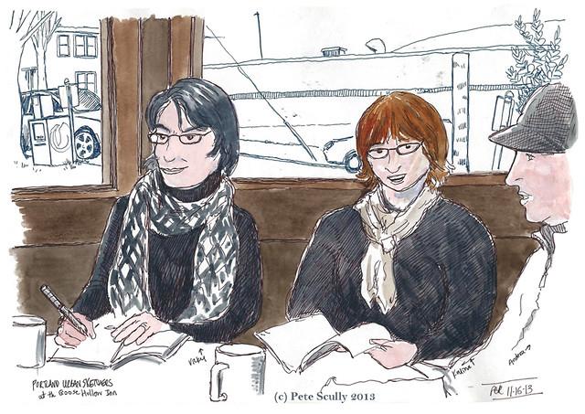 PDX urban sketchers