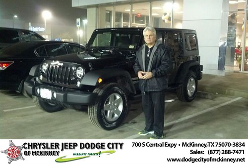 Dodge City McKinney Texas Customer Reviews and Testimonials-Reid Waller by Dodge City McKinney Texas