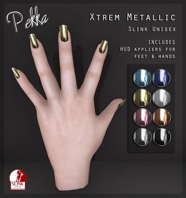 pekka Xtrem Metallic nails