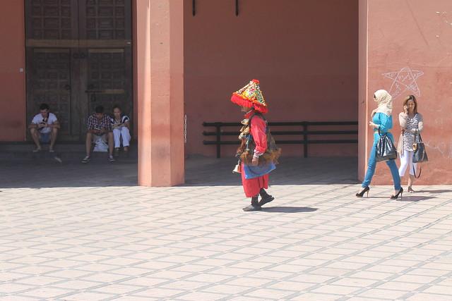 Vendedor de agua en Marrakech