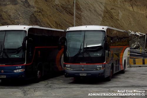 Link - Mina El Teniente - Marcopolo Andare Class / Mercedes Benz (YS8143)