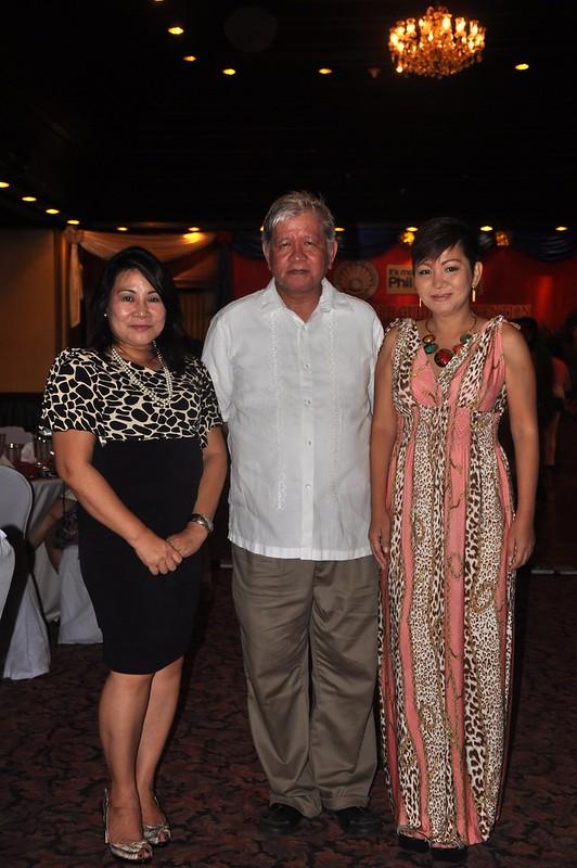 DOT Region 1 Director Martin Valera and Laoag Sub-Office Head Ma. Milagros Gonzales